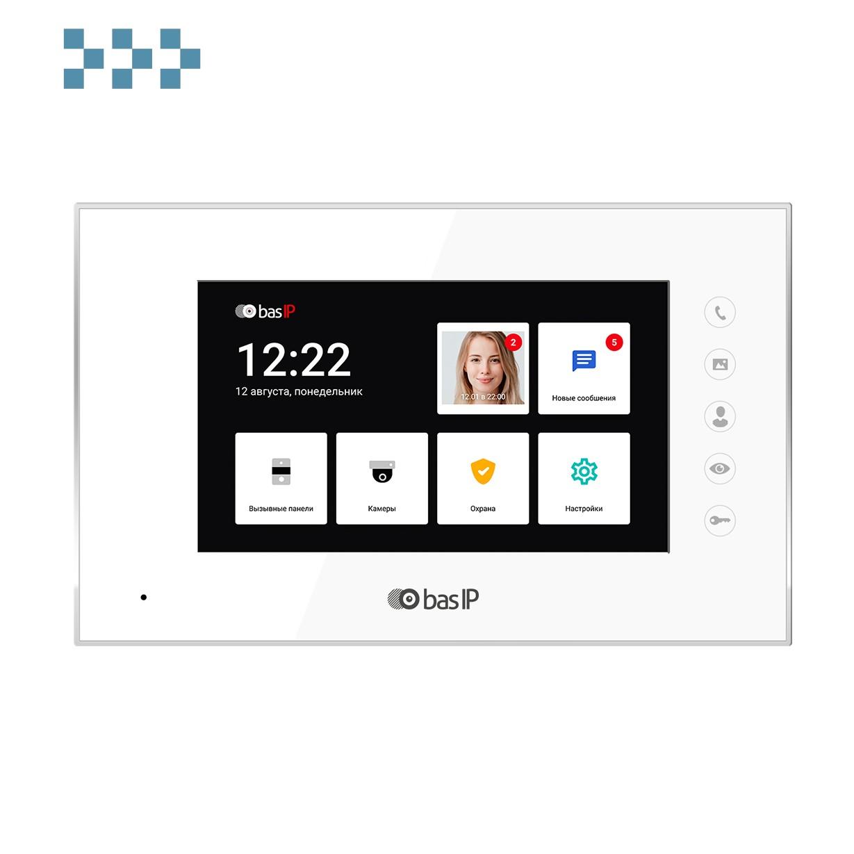 Видеодомофон BAS-IP AQ-07LL WHITE