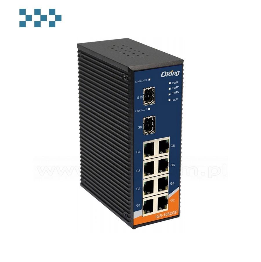 Промышленный коммутатор ORing IGS-1082GP