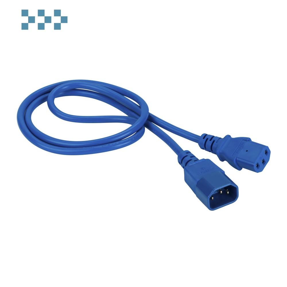 Шнур питания C13-C14 LANMASTER LAN-PP13/14-3.0-BL